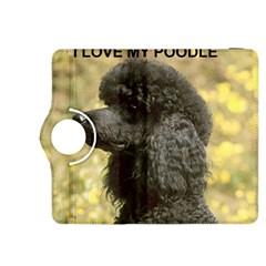 Poodle Love W Pic Black Kindle Fire HDX 8.9  Flip 360 Case