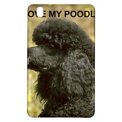 Poodle Love W Pic Black Samsung Galaxy Tab Pro 8.4 Hardshell Case