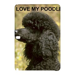 Poodle Love W Pic Black Samsung Galaxy Tab Pro 12.2 Hardshell Case