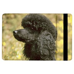 Poodle Love W Pic Black iPad Air Flip