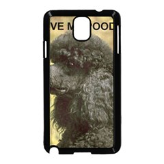 Poodle Love W Pic Black Samsung Galaxy Note 3 Neo Hardshell Case (Black)
