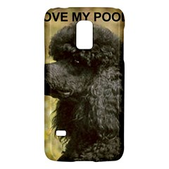 Poodle Love W Pic Black Galaxy S5 Mini