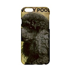 Poodle Love W Pic Black Apple iPhone 6/6S Hardshell Case