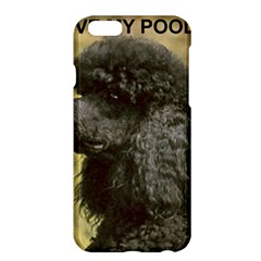 Poodle Love W Pic Black Apple iPhone 6 Plus/6S Plus Hardshell Case