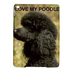 Poodle Love W Pic Black iPad Air 2 Hardshell Cases