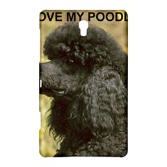 Poodle Love W Pic Black Samsung Galaxy Tab S (8.4 ) Hardshell Case