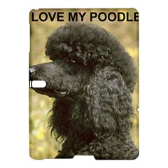 Poodle Love W Pic Black Samsung Galaxy Tab S (10.5 ) Hardshell Case