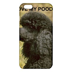 Poodle Love W Pic Black iPhone 6 Plus/6S Plus TPU Case