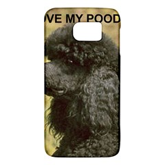 Poodle Love W Pic Black Galaxy S6
