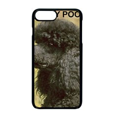 Poodle Love W Pic Black Apple iPhone 7 Plus Seamless Case (Black)