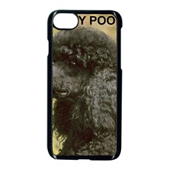 Poodle Love W Pic Black Apple iPhone 7 Seamless Case (Black)