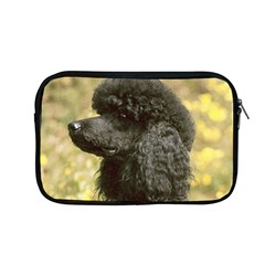 Poodle Love W Pic Black Apple MacBook Pro 13  Zipper Case