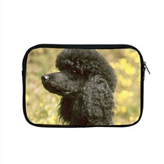 Poodle Love W Pic Black Apple MacBook Pro 15  Zipper Case