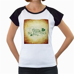 Irish St Patrick S Day Ireland Women s Cap Sleeve T