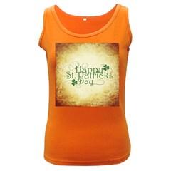 Irish St Patrick S Day Ireland Women s Dark Tank Top