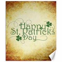 Irish St Patrick S Day Ireland Canvas 20  X 24