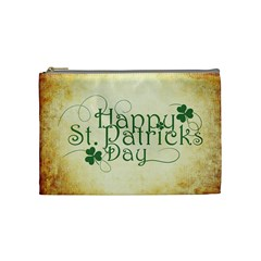 Irish St Patrick S Day Ireland Cosmetic Bag (medium)