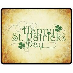 Irish St Patrick S Day Ireland Fleece Blanket (Medium)