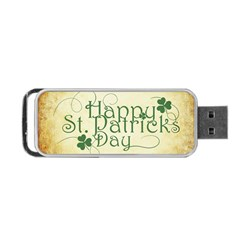 Irish St Patrick S Day Ireland Portable USB Flash (One Side)
