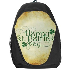 Irish St Patrick S Day Ireland Backpack Bag