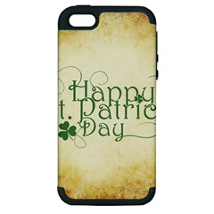 Irish St Patrick S Day Ireland Apple iPhone 5 Hardshell Case (PC+Silicone)