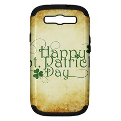 Irish St Patrick S Day Ireland Samsung Galaxy S III Hardshell Case (PC+Silicone)