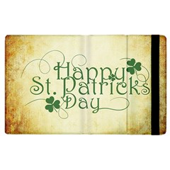 Irish St Patrick S Day Ireland Apple Ipad 3/4 Flip Case