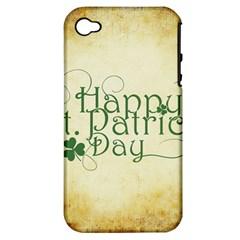 Irish St Patrick S Day Ireland Apple iPhone 4/4S Hardshell Case (PC+Silicone)