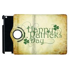 Irish St Patrick S Day Ireland Apple iPad 2 Flip 360 Case