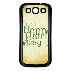 Irish St Patrick S Day Ireland Samsung Galaxy S3 Back Case (Black)