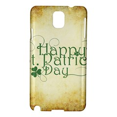 Irish St Patrick S Day Ireland Samsung Galaxy Note 3 N9005 Hardshell Case