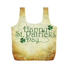 Irish St Patrick S Day Ireland Full Print Recycle Bags (M)