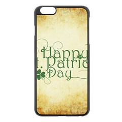 Irish St Patrick S Day Ireland Apple iPhone 6 Plus/6S Plus Black Enamel Case