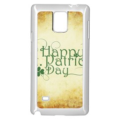 Irish St Patrick S Day Ireland Samsung Galaxy Note 4 Case (white)