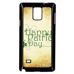 Irish St Patrick S Day Ireland Samsung Galaxy Note 4 Case (black)