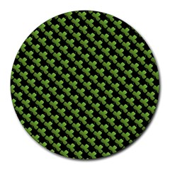 St Patrick S Day Background Round Mousepads