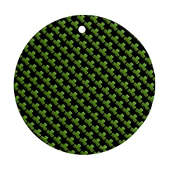 St Patrick S Day Background Ornament (round)