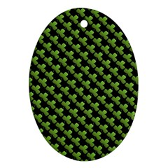 St Patrick S Day Background Ornament (oval)