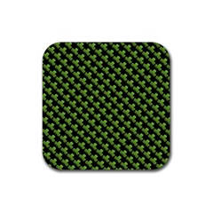 St Patrick S Day Background Rubber Square Coaster (4 Pack)