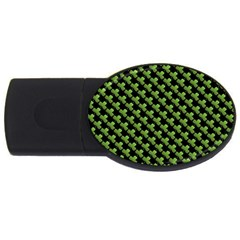 St Patrick S Day Background USB Flash Drive Oval (1 GB)