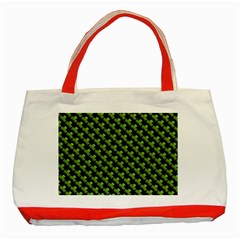 St Patrick S Day Background Classic Tote Bag (red)
