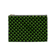 St Patrick S Day Background Cosmetic Bag (medium)