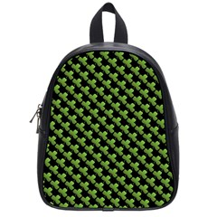St Patrick S Day Background School Bags (small)