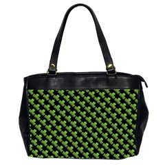 St Patrick S Day Background Office Handbags (2 Sides)