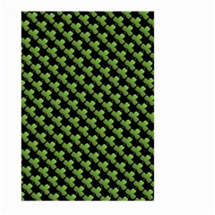 St Patrick S Day Background Large Garden Flag (Two Sides)