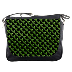 St Patrick S Day Background Messenger Bags