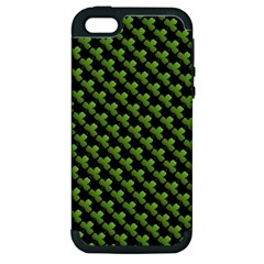 St Patrick S Day Background Apple Iphone 5 Hardshell Case (pc+silicone)