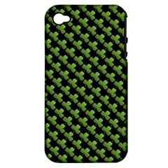 St Patrick S Day Background Apple iPhone 4/4S Hardshell Case (PC+Silicone)