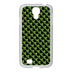 St Patrick S Day Background Samsung GALAXY S4 I9500/ I9505 Case (White)