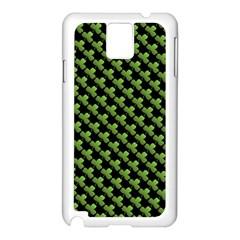 St Patrick S Day Background Samsung Galaxy Note 3 N9005 Case (White)
